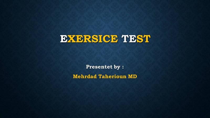 متخصص قلب اصفهان EXERSICE TEST