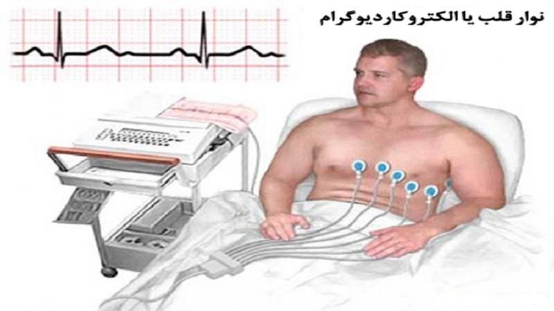 نمتخصص قلب اصفهان حوه آماده شدن جهت انجام نوار قلب